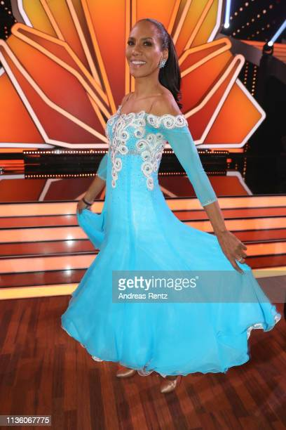 Barbara Becker poses for a photograph during the preshow Wer tanzt mit wem Die grosse Kennenlernshow of the television competition Let's Dance on...