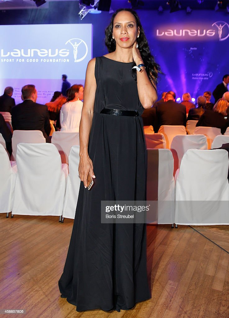Barbara Becker poses prior to the Laureus Media Award 2014 at Grand Hyatt Hotel on November 12, 2014 in Berlin, Germany.