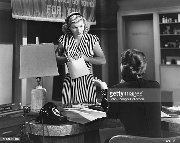 Barbara Bel Geddes as Leonora Eames in the 1949 filmCaught.