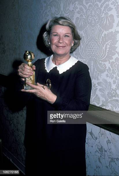 Barbara Bel Geddes during 39th Annual Golden Globe Awards at Beverly Hilton Hotel in Beverly Hills, California, United States.