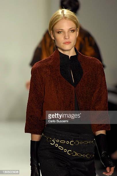 Barbara Berger wearing Joanna Mastroianni Fall 2007