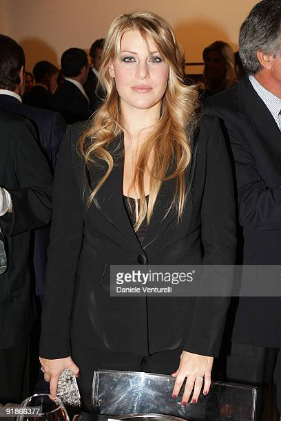 Barbara Berlusconi attends the Cardi Black Box Dinner on October 13 2009 in Milan Italy