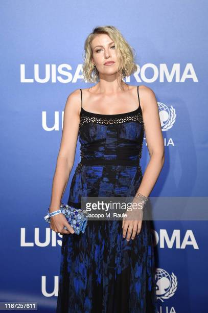 Barbara Berlusconi attends the photocall at the Unicef Summer Gala Presented by Luisaviaroma at on August 09 2019 in Porto Cervo Italy