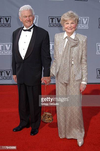 Barbara Billingsley and guest during TV Land Awards A Celebration of Classic TV Arrivals at Hollywood Palladium in Hollywood California United States