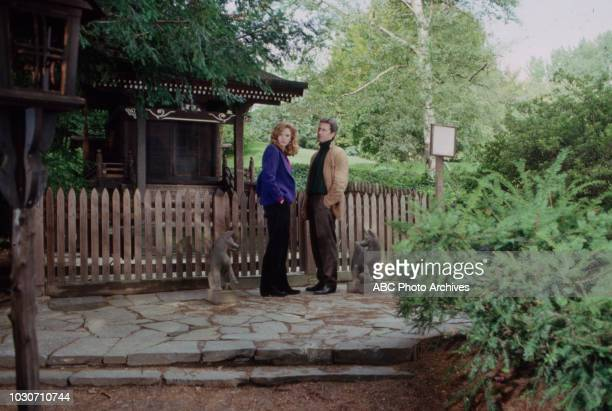 Barbara Blackburn Roscoe Born appearing on the soap opera 'Ryan's Hope' New York Botanical Garden