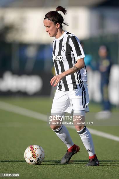 Barbara Bonansea during the Juventus Women v Valpolicella Chievo Verona Women match at Juventus Center Vinovo on January 13 2018 in Vinovo Italy