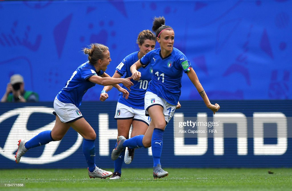Australia v Italy: Group C - 2019 FIFA Women's World Cup France : News Photo