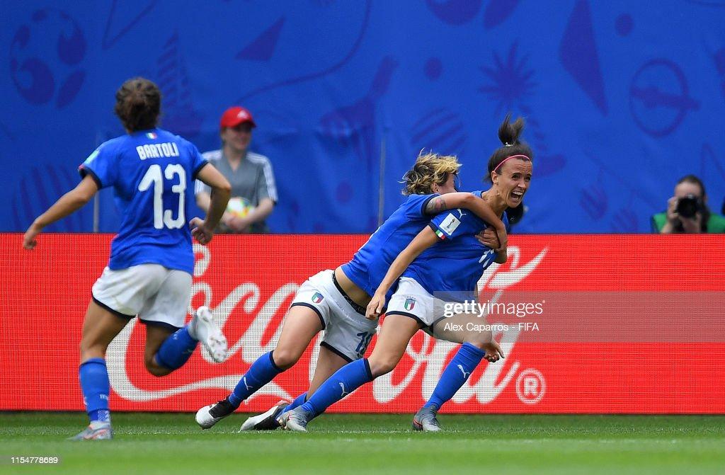 Australia v Italy: Group C - 2019 FIFA Women's World Cup France : News Photo
