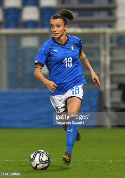 Barbara Bonansea of Italy Woman in action during the International Friendly match between Italy Women and Ireland Women at Mapei Stadium Città del...