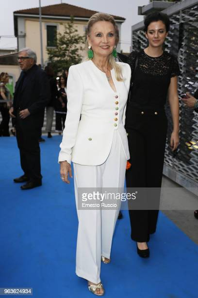 Barbara Bouchet attends a photocall ahead of the Nastri D'Argento nominees presentation at Maxxi Museum on May 29 2018 in Rome Italy