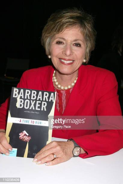 Barbara Boxer during 2005 BookExpo America Day One at Jacob Javits Center in New York City New York United States