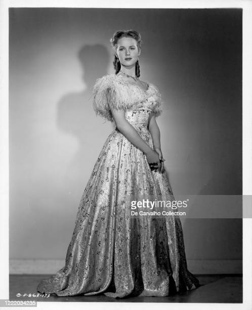 Barbara Britton as 'Angela Pickard' in a publicity shot from the movie 'The Return Of Monte Cristo' United States