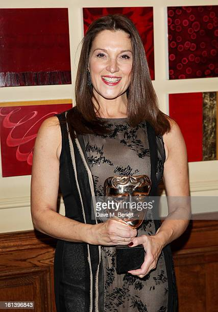 Barbara Broccoli arrives at the after party following the EE British Academy Film Awards at Grosvenor House on February 10 2013 in London England