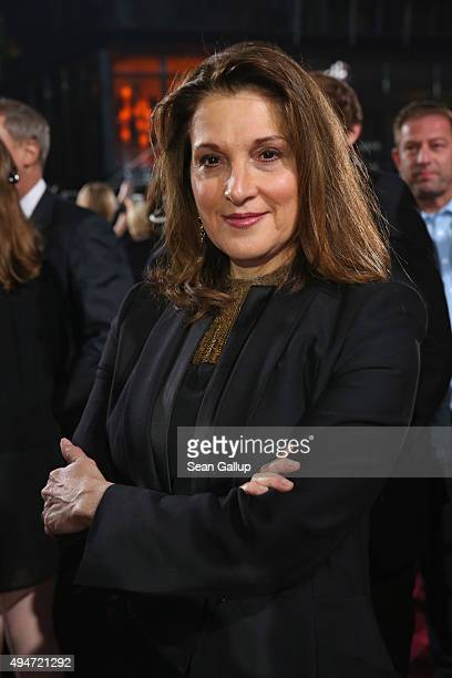 Barbara Broccoli attends the German premiere of the new James Bond movie 'Spectre' at CineStar on October 28 2015 in Berlin Germany