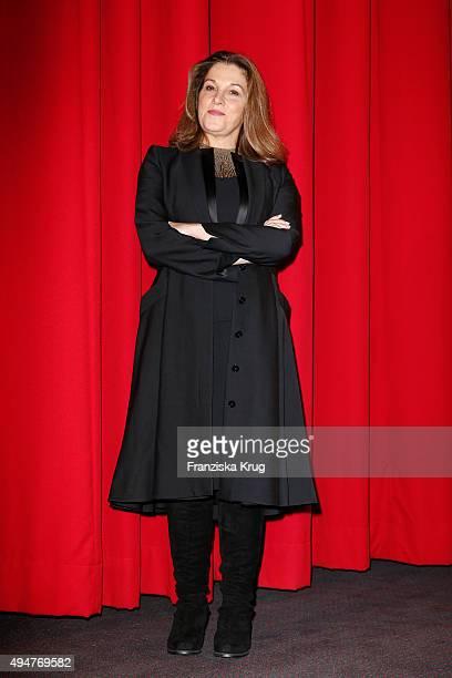 Barbara Broccoli attends the Spectre' German Premiere on October 28 2015 in Berlin Germany