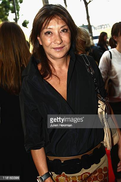 Barbara Bui attends the New Talents Of Fashion Showroom Opening as part of Haute Couture Fall/Winter 2011/2012 Paris Fashion Week at La Pointe Rivoli...