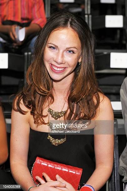 Barbara Bush attends the Prabal Gurung Spring 2011 fashion show during MercedesBenz Fashion Week at The Studio at Lincoln Center on September 11 2010...