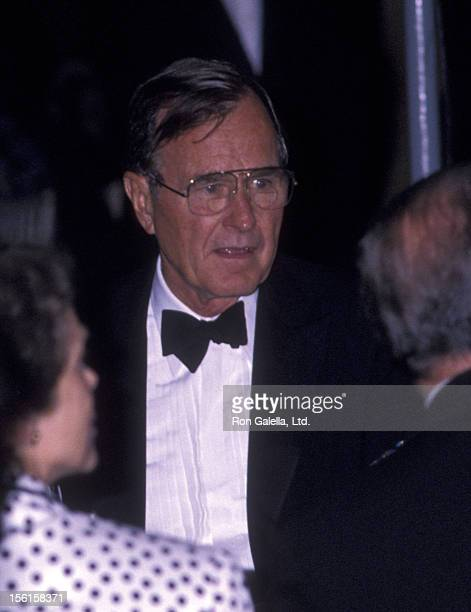 Barbara Bush sighted on October 14 1988 at Chasen's Restaurant in Beverly Hills California