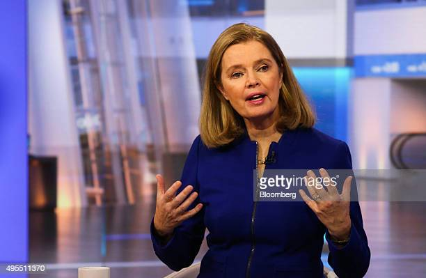 Barbara Byrne vice chairman of investment banking at Barclays Capital speaks during a Bloomberg Television interview in New York US on Tuesday Nov 3...