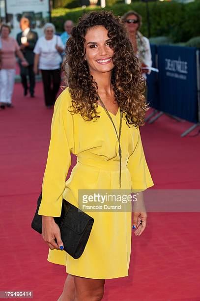 Barbara Cabrita arrives at the premiere of the film 'Parkland' during the 39th Deauville American Film Festival on September 4 2013 in Deauville...