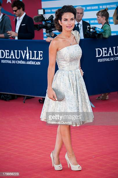 Barbara Cabrita arrives at the 'Snowpierce' Premiere and closing ceremony of the 39th Deauville American Film Festival on September 7, 2013 in...