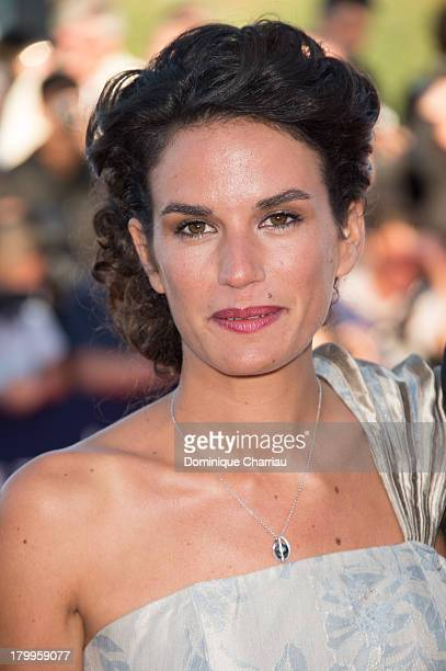 Barbara Cabrita arrives at the 'Snowpierce' Premiere and closing ceremony of the 39th Deauville American Film Festival on September 7 2013 in...