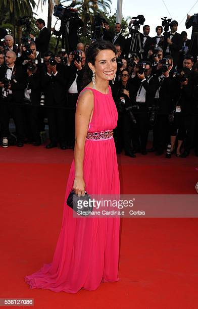 Barbara Cabrita at the premiere of Wall Street Money never sleeps during the 63rd Cannes International Film Festival