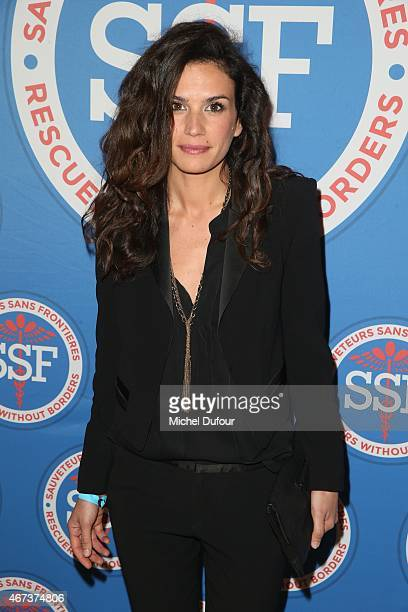 Barbara Cabrita attends the 'Sauveteurs Sans Frontiere' Charity Party In Paris on March 23 2015 in Paris France