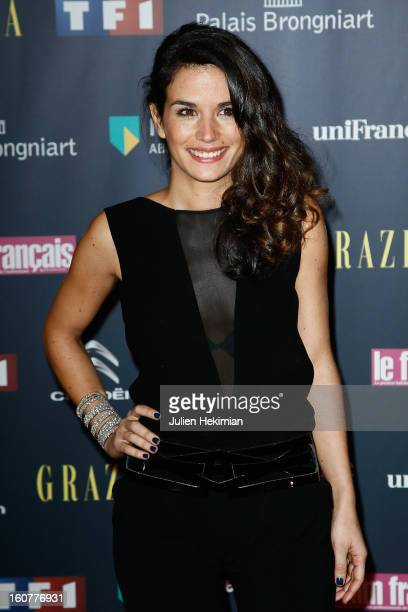 Barbara Cabrita attends the 'Trophees Du Film Francais' 20th Ceremony at Palais Brongniart on February 5 2013 in Paris France