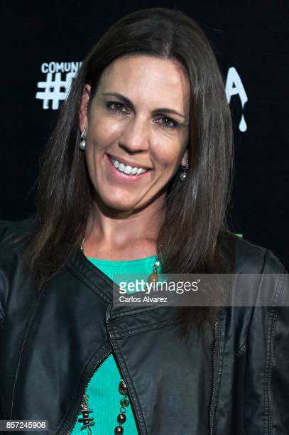Barbara Caffarel attends 'An Inconvenient Sequel Truth to Power' premiere at the Callao cinema on October 3 2017 in Madrid Spain