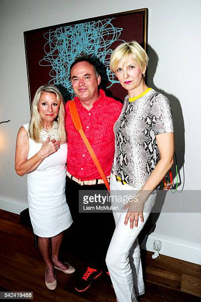 Barbara Camp, Christopher Mason and Mariana Verkerk attend Launch Party at The Schumacher, 36 Bleecker, Penthouse A, to Celebrate Bestselling Author...