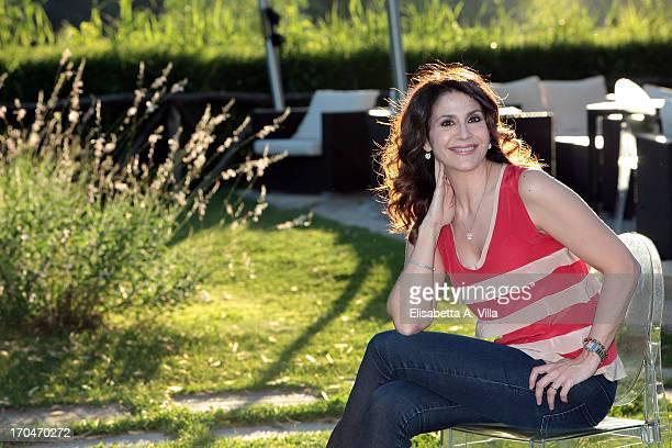 Barbara Capponi attends 'Vita in Diretta Estate' TV Show at Circolo Rai on June 13 2013 in Rome Italy