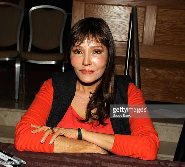 Barbara Carrera attends the 2012 Chiller Theatre Expo at the Sheraton Parsippany Hotel on October 26 2012 in Parsippany New Jersey