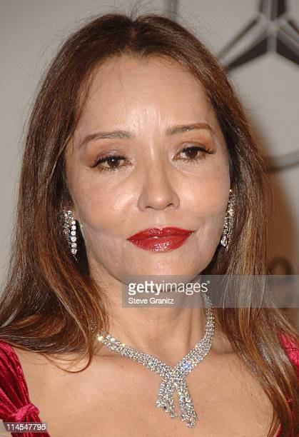 Barbara Carrera during Mercedes-Benz Presents the 17th Carousel of Hope Ball - Arrivals at Beverly Hilton Hotel in Beverly Hills, California, United...