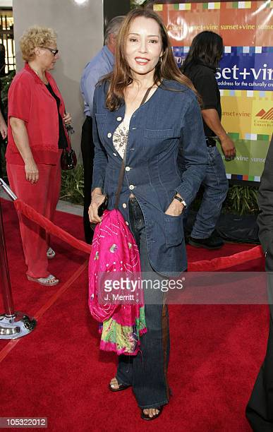 Barbara Carrera during The Bourne Supremacy World Premiere Arrivals at ArcLight Cinerama Dome in Hollywood California United States