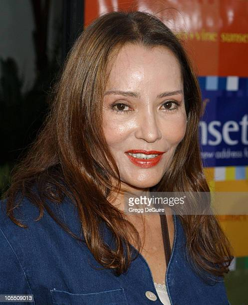 Barbara Carrera during 'The Bourne Supremacy' World Premiere Arrivals at ArcLight Cinema in Hollywood California United States