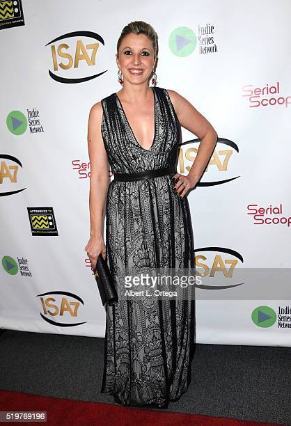 Barbara Caruso at the 7th Annual Indie Series Awards held at El Portal Theatre on April 6 2016 in North Hollywood California