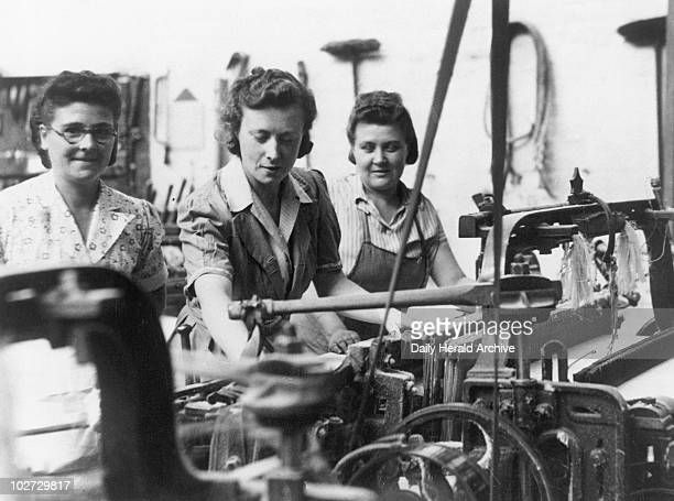 Barbara Castle MP working in a cotton mill 1945 Barbara Castle Labour politician entered parliament in 1945 as MP for Blackburn During the 1950s she...