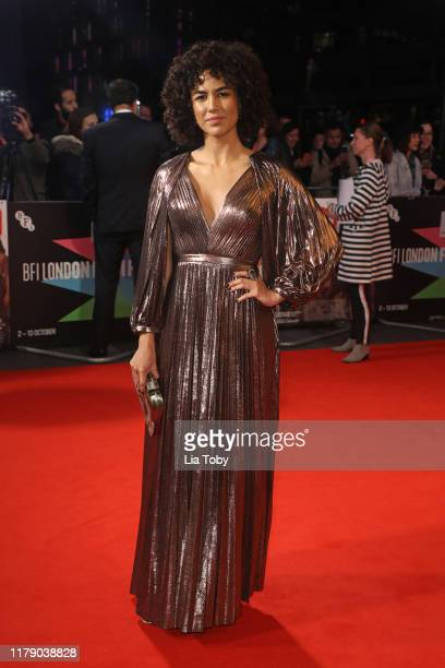 Barbara Colen attends the Bacurau UK Premiere during the 63rd BFI London Film Festival at Odeon Luxe Leicester Square on October 04 2019 in London...