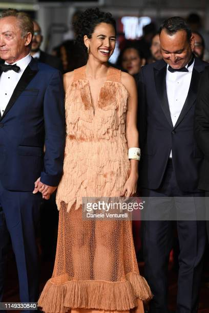 """Barbara Colen attends the screening of """"Bacurau"""" during the 72nd annual Cannes Film Festival on May 15, 2019 in Cannes, France."""
