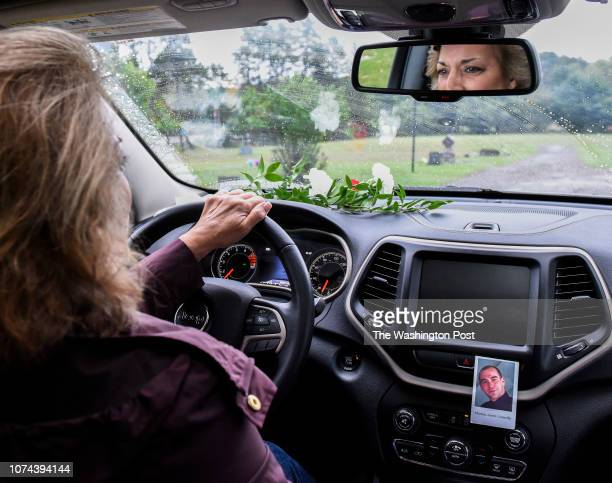 Barbara Connelly drives to visit the grave of her son Tom Connelly a rookie sheriff's deputy in rural Wisconsin who took his own life after being...
