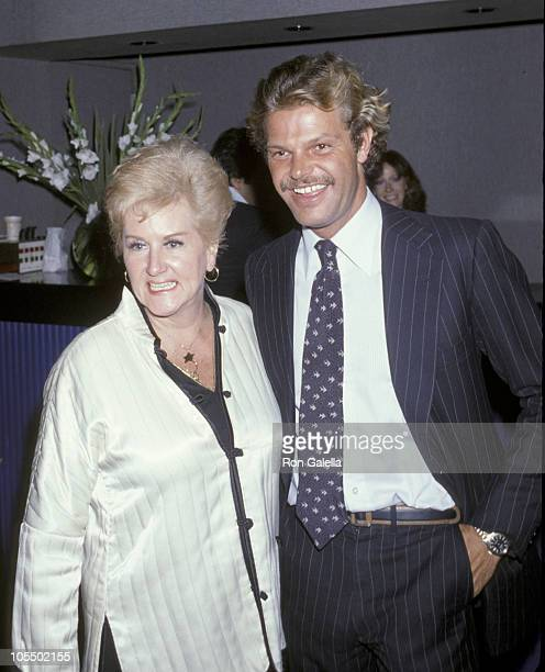 Barbara Cook and Egon Von Furstenberg during Opium Perfume Launch After Party at Studio 54 at Studio 54 in New York City New York United States