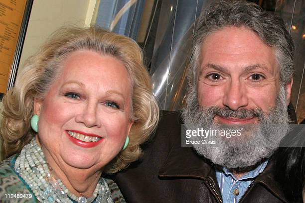Barbara Cook and Harvey Fierstein during The AllStar Stephen Sondheim 75th Birthday Celebration Children and Art Inside at Broadway's New Amsterdam...
