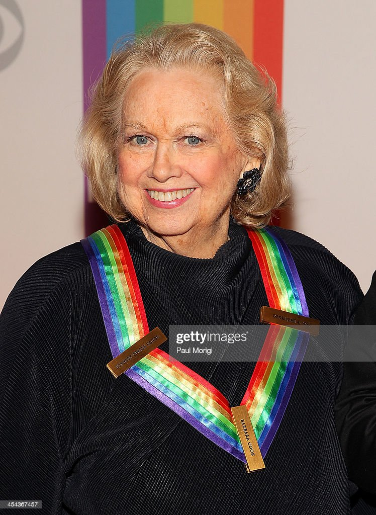 Barbara Cook attends the The 36th Kennedy Center Honors gala at The Kennedy Center on December 8, 2013 in Washington, DC.