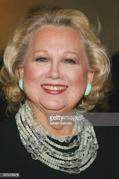 Barbara Cook during AllStar Stephen Sondheim 75th Birthday Celebration Concert Children and Art at Four Seasons Restaurant in New York New York...