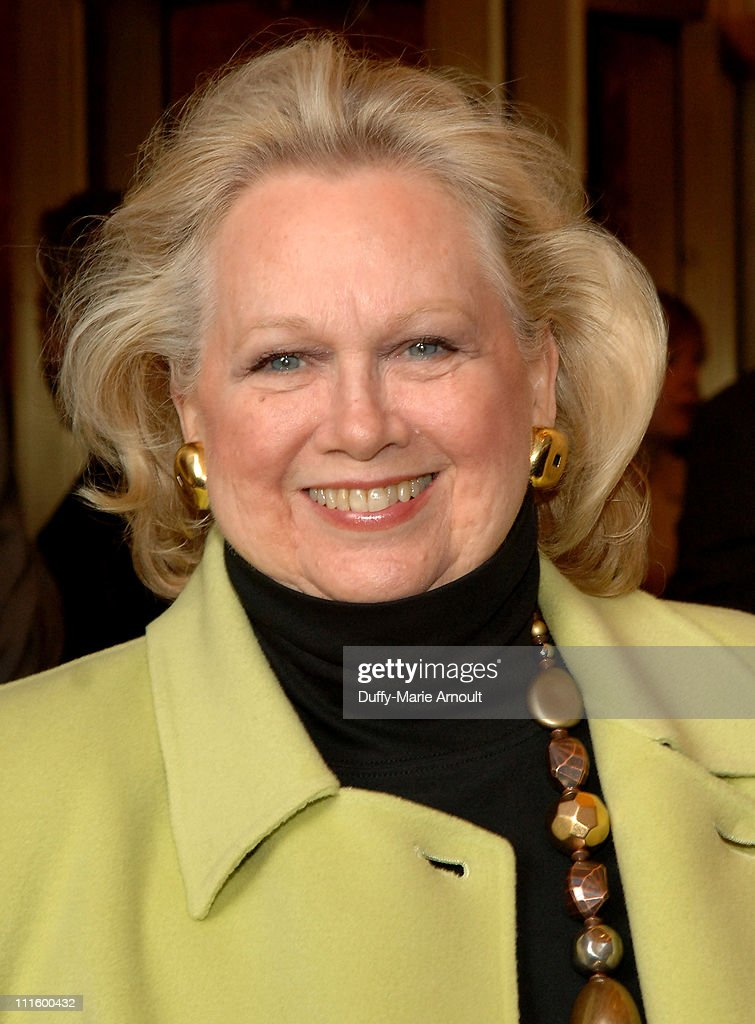 Barbara Cook during National Theatre's Coram Boy Opening - Arrivals and Curtain Call at Imperial Theatre in New York City, New York, United States.