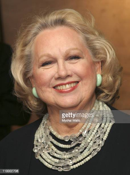 Barbara Cook during The AllStar Stephen Sondheim 75th Birthday Celebration Children and Art at Four Seasons Resturant in New York New York United...