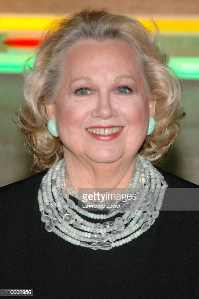 Barbara Cook during The AllStar Stephen Sondheim 75th Birthday Celebration Children and Art at Four Seasons Restaurant in New York City New York...
