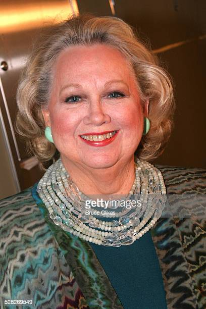 Barbara Cook during The AllStar Stephen Sondheim 75th Birthday Celebration Children and Art Inside at Broadway's New Amsterdam Theatre in New York...