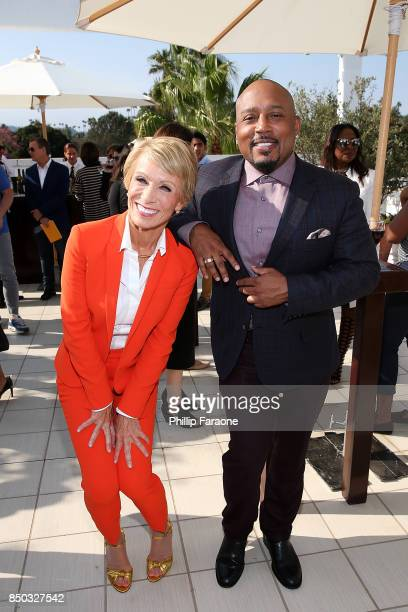 Barbara Corcoran and Daymond John attend the premiere of ABC's Shark Tank Season 9 at The Paley Center for Media on September 20 2017 in Beverly...